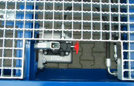 Hand pump & HGV grating
